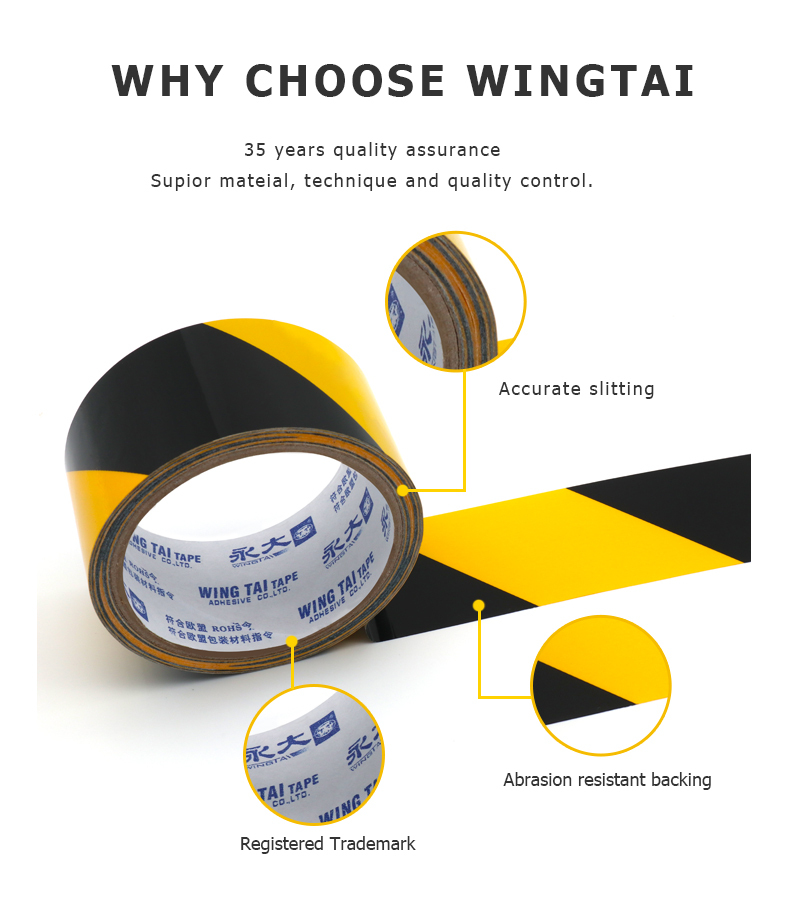 Floor marking tape Manufacturer, Supplier, Exporter | WINGTA