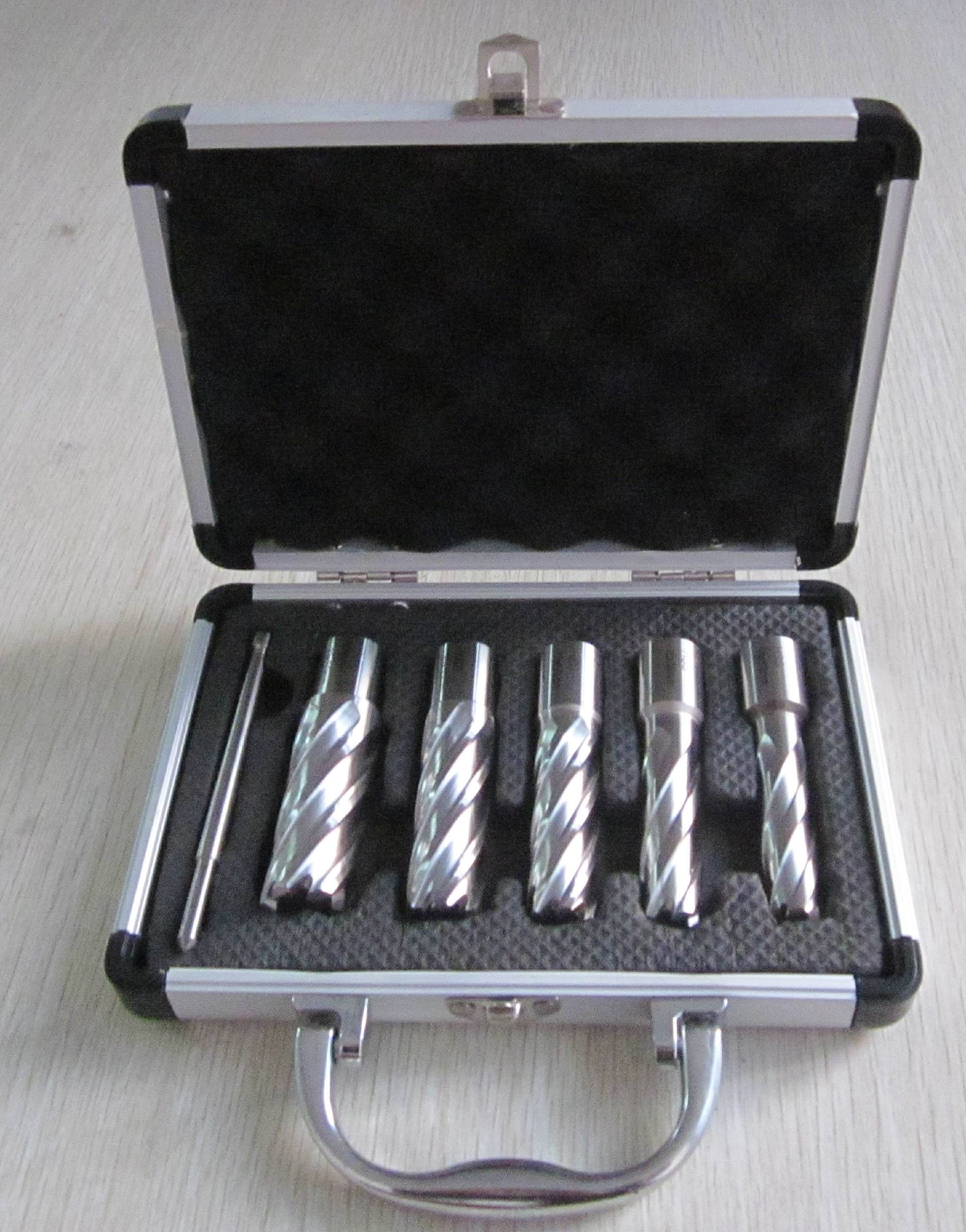 6pcs Annular Cutter Set Aluminium Box