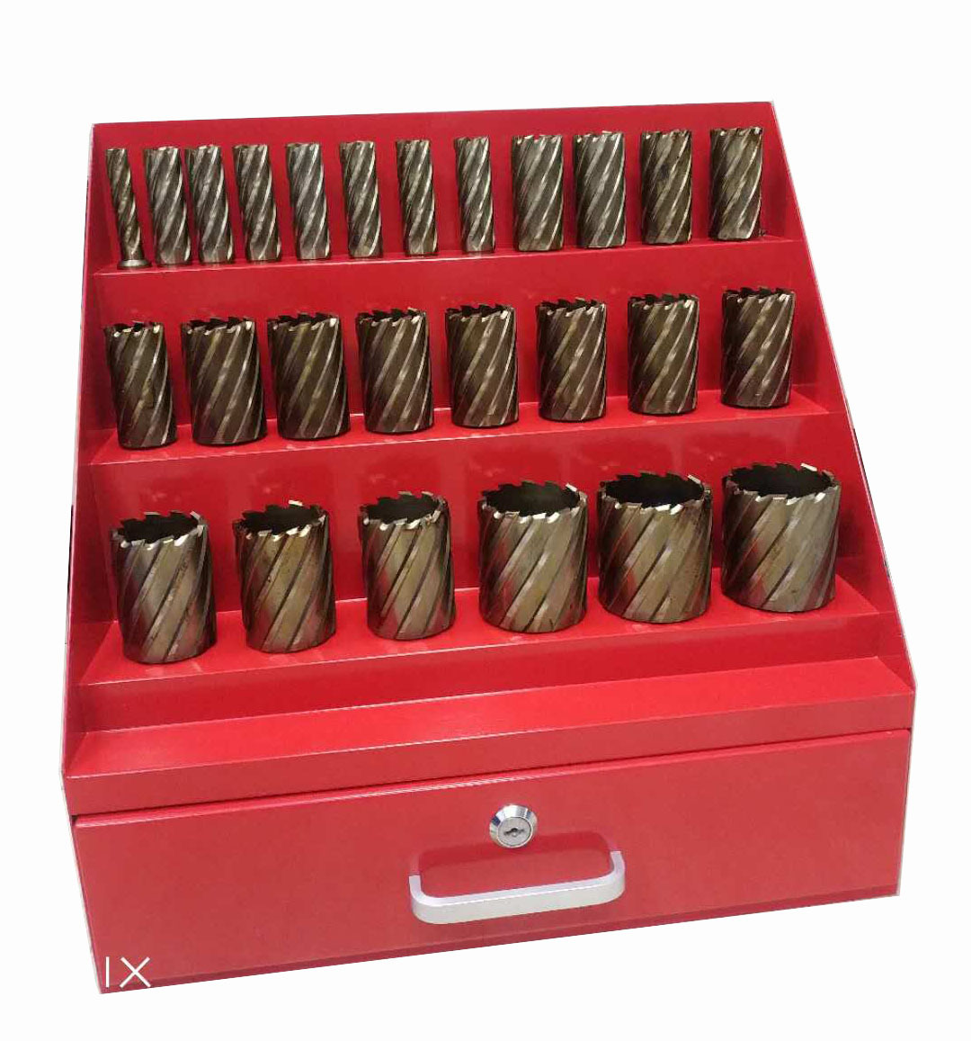 26pcs Annular Cutter Steel Box