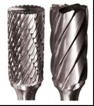 Tungsten Carbide Burrs-CYLINDRICAL WITH END CUTTER (ZYAS)