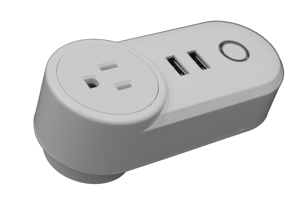 Wifi Smart Power Plug Enchufe de interruptor de pared USB Go
