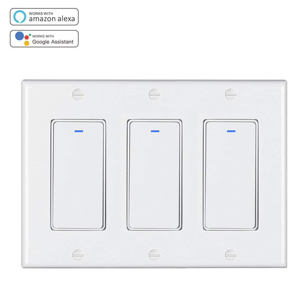 US Triplex Smart Switch DS-123-T