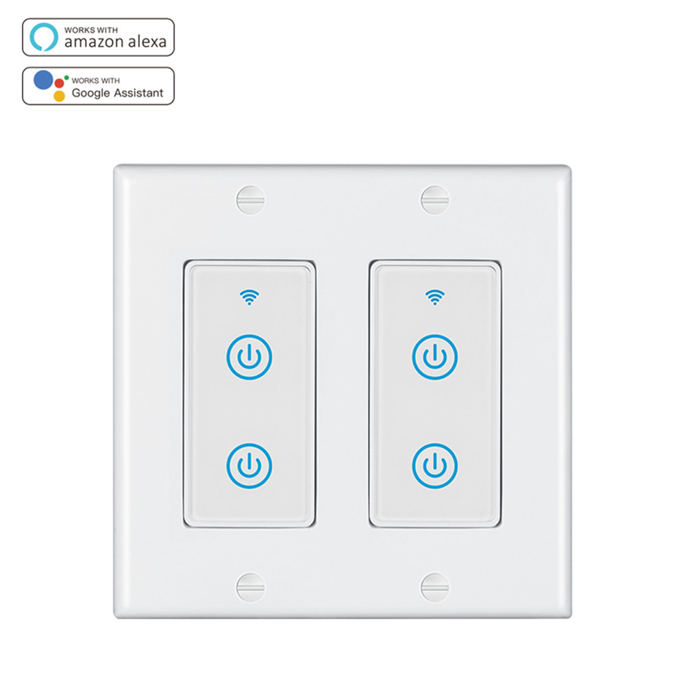 Doppio Smart Switch standard americano DS-123-2S