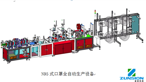 N95 mask production equipment