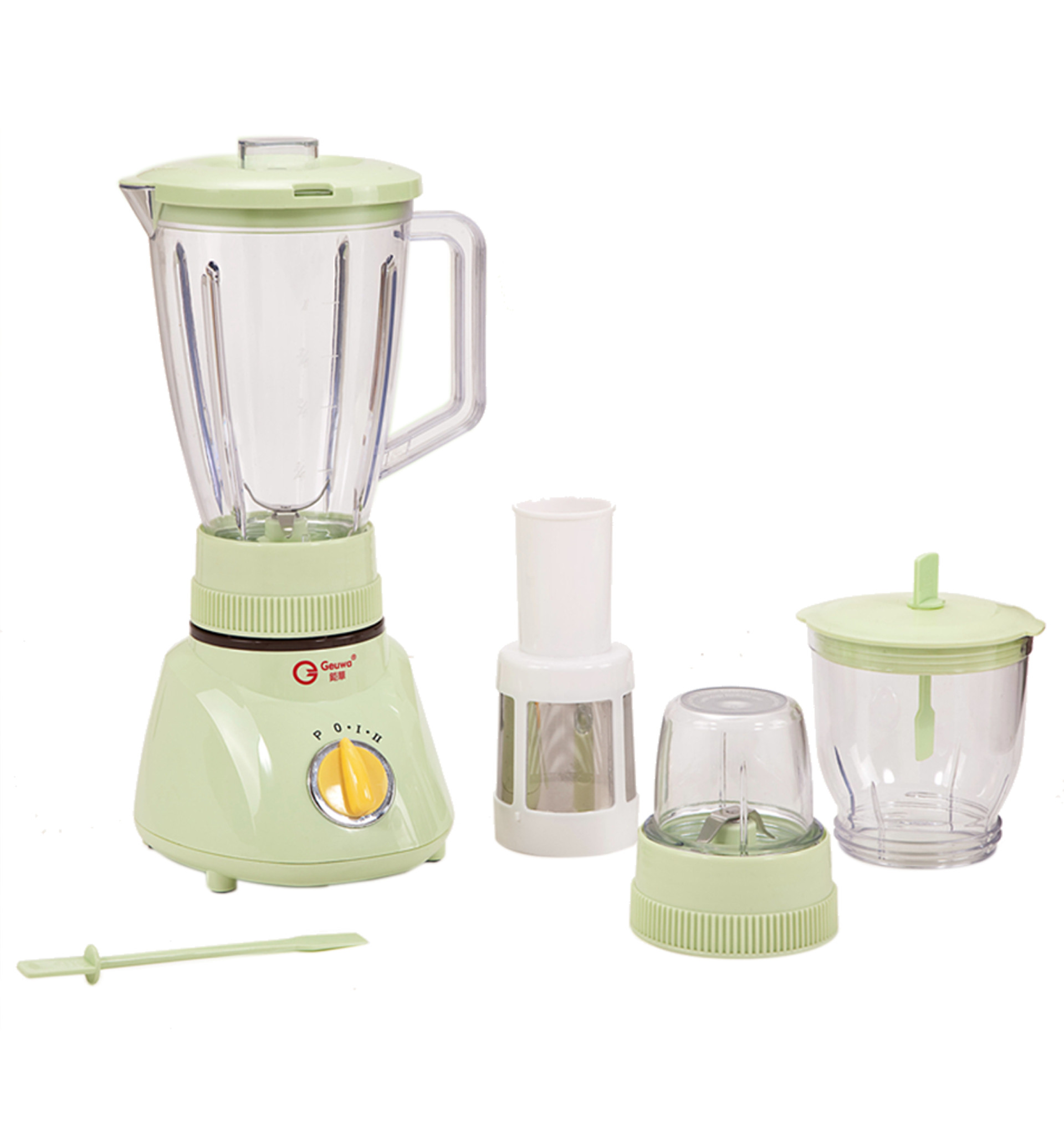 3 in 1 300W 1.6L Capacity Electric Food Processor Blender (K