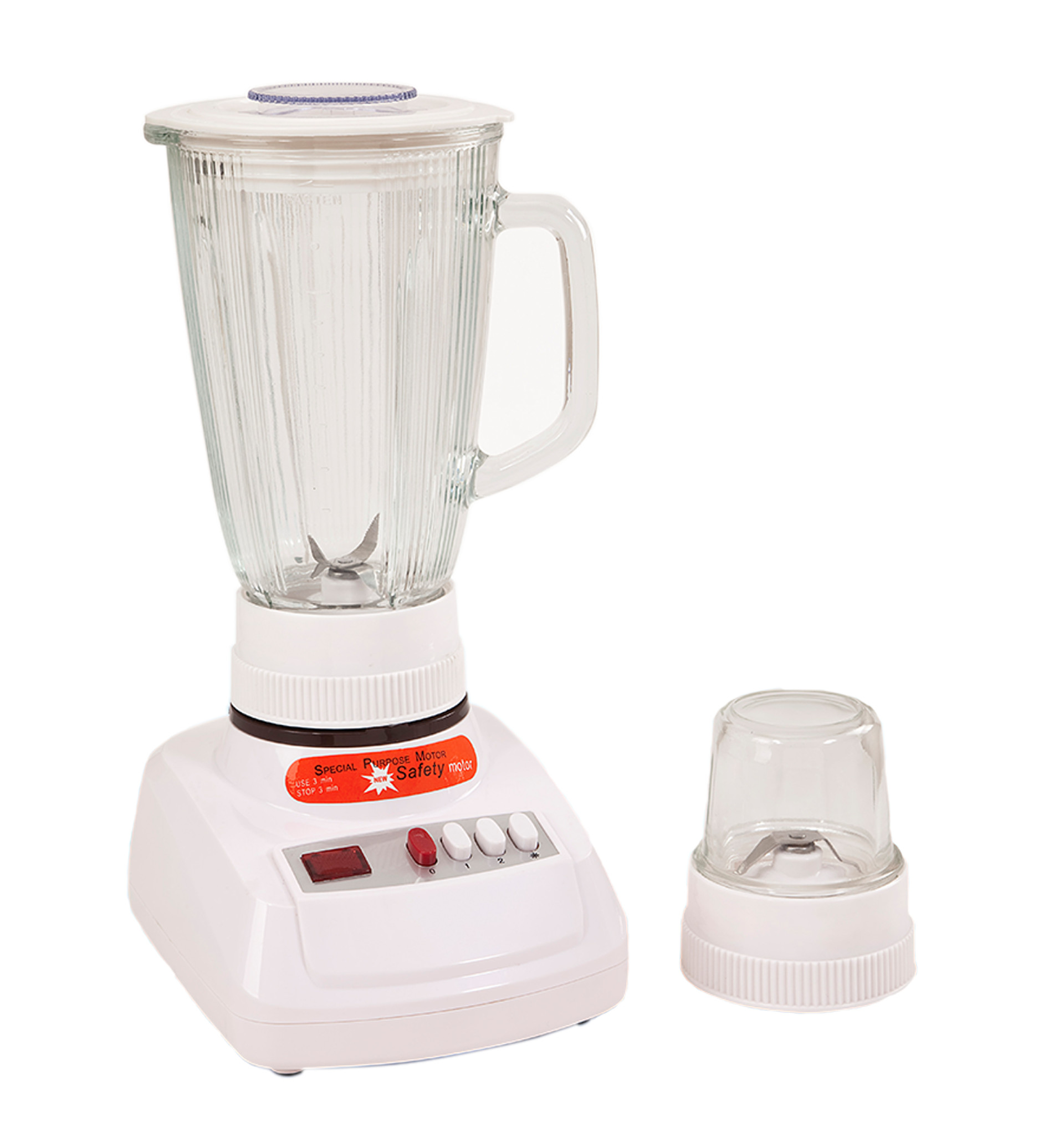 1400ml Glass Jar Vegetable Chopper Electric Blender Manufact