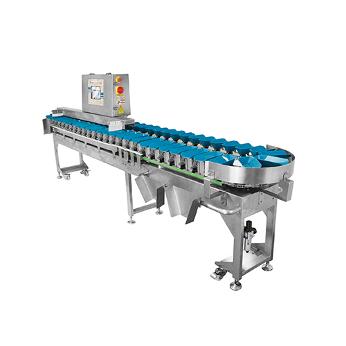 Rotating Tray weight sorting machine,suitable for marine.