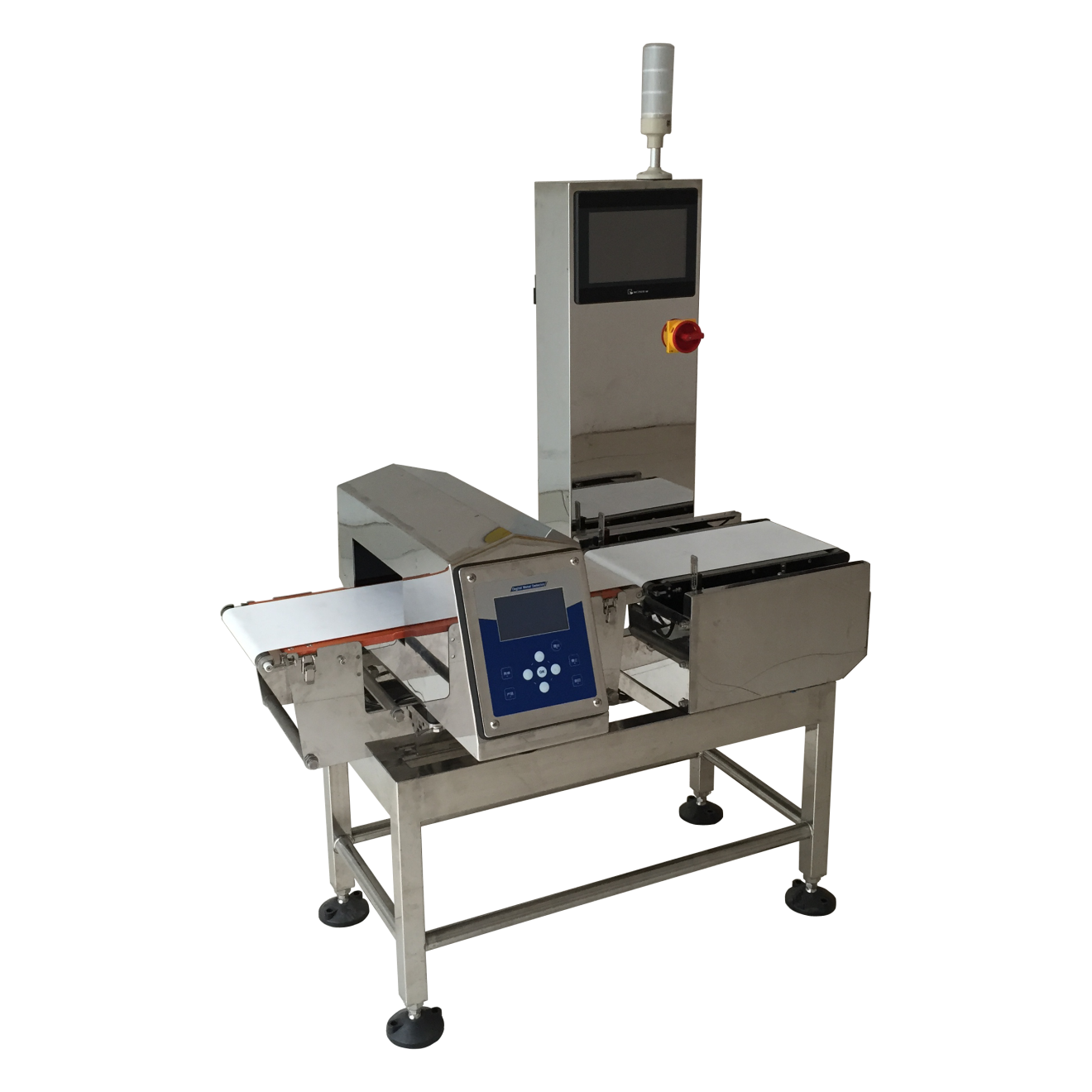 Dynamic Checkweigher and metal detector ensure your safety.