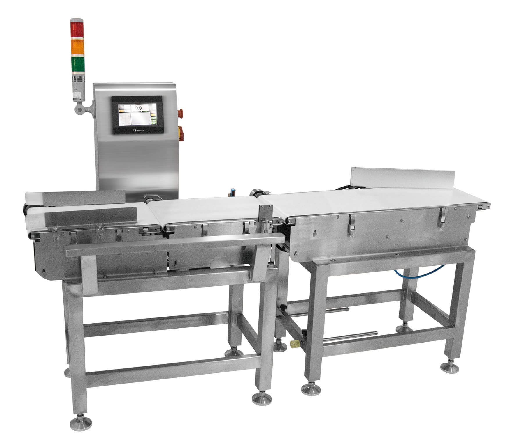 checkweigher for packaging goods