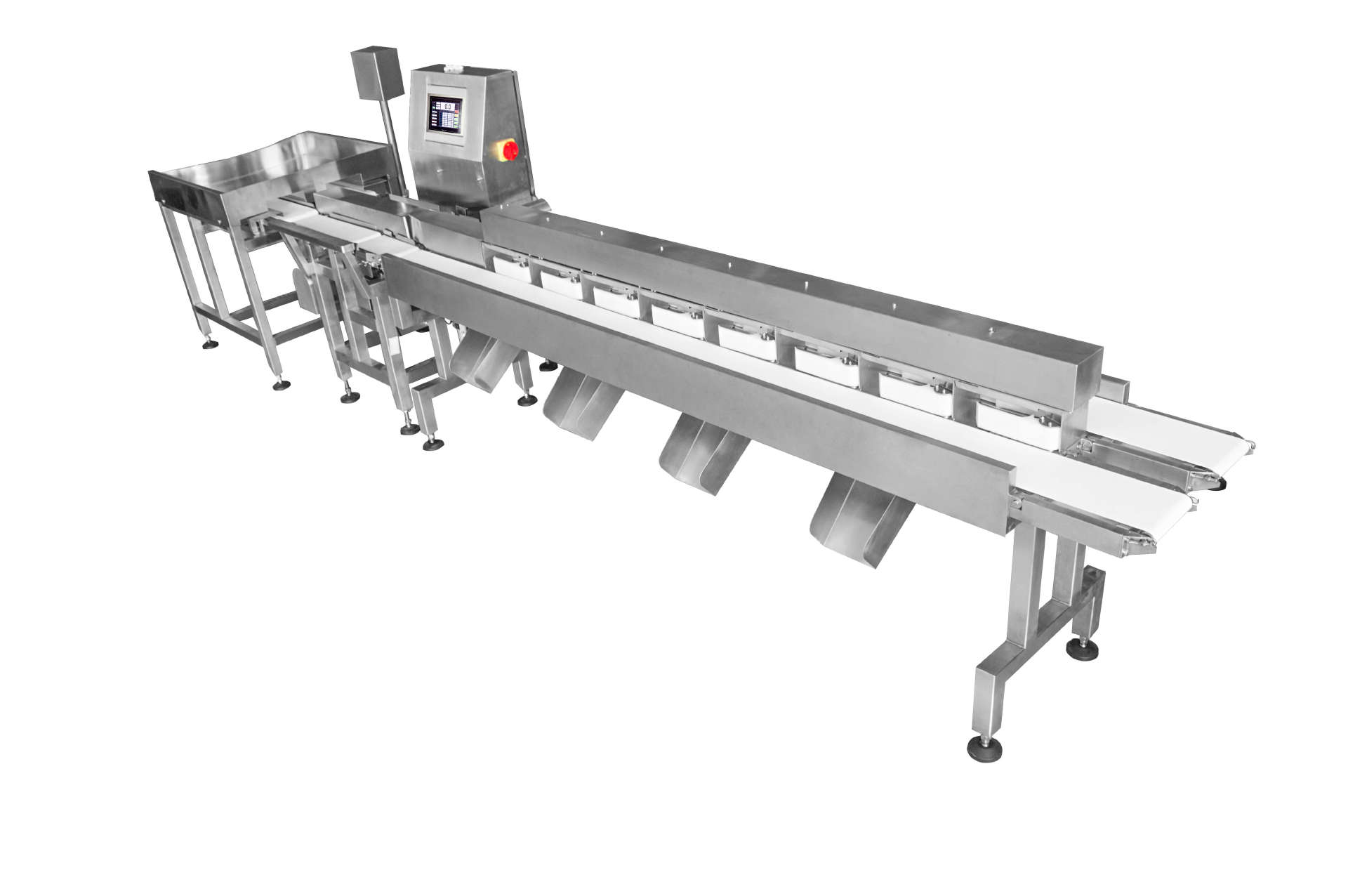 multi-weight grader,frozen food to check weight