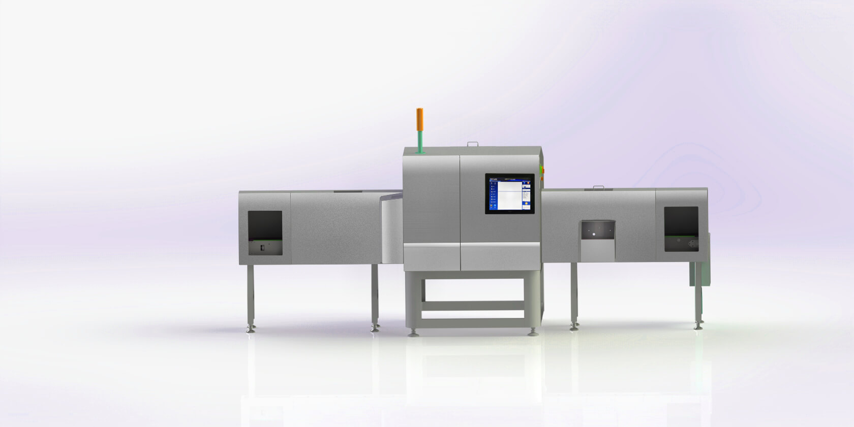X-Ray Inspection system for Packaged and Unpackaged canned