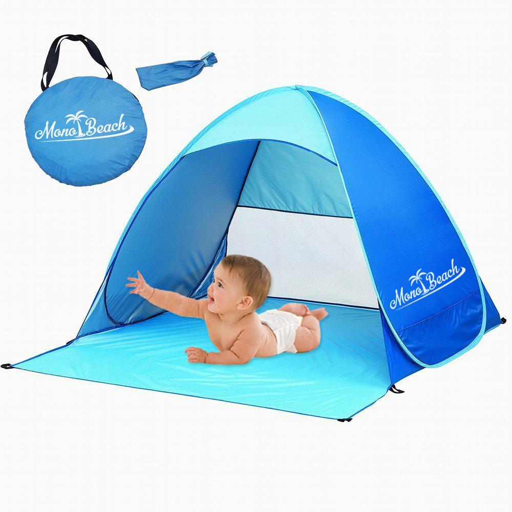 Moeach Tm Baby Beach Tent Sun Shelter Automatic Pop Up B