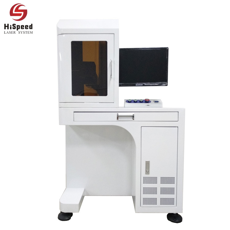 HiSpeed Table Type Fiber Laser Marking Machine