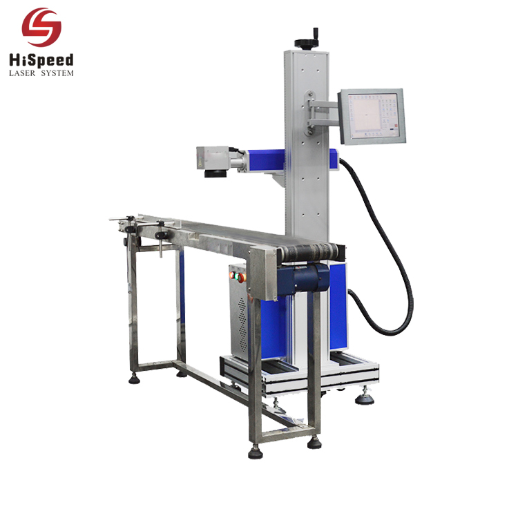 Hispeed Fiber Online Laser Marking Machine