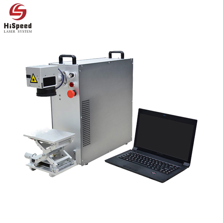 20 Watt Metal Portable Fiber Laser Marking Machine