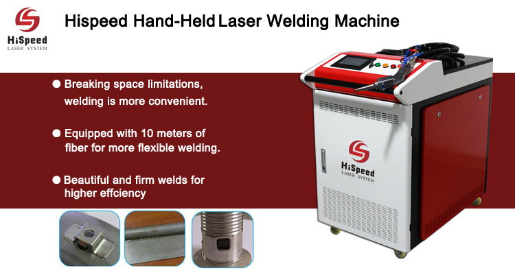 Hispeed New Product Handheld Laser Welding Machine for sale!