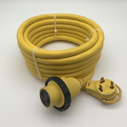 RV 30A extension cord TT-30P to L5-30R