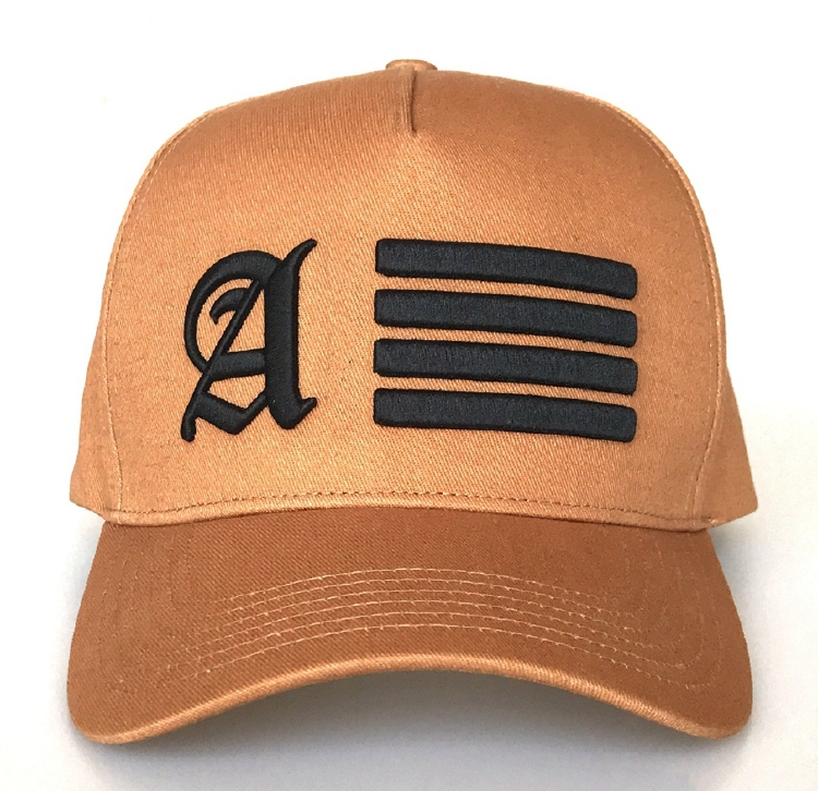 Fashion design 5 panel cap with 3D embroidery baseball cap