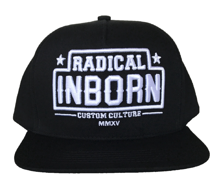 Custom 5 panel printing snapback cap hat