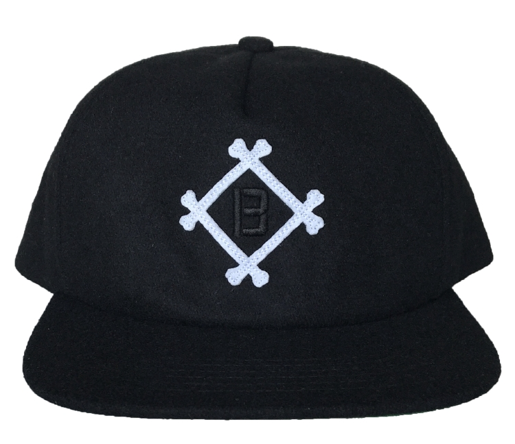 Custom 5 panel felt embroidery snapback cap supplier