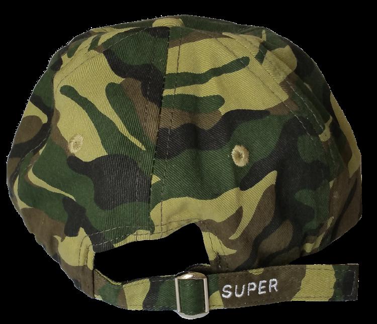 Custom dad hat style supplier camo hat