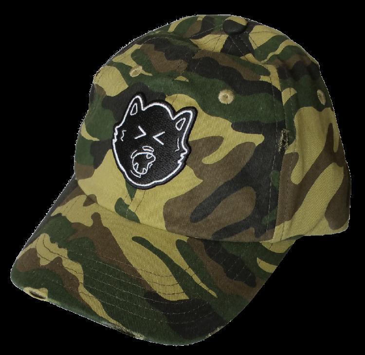 9e024feb538 ... Custom dad hat style factory camo hat ...