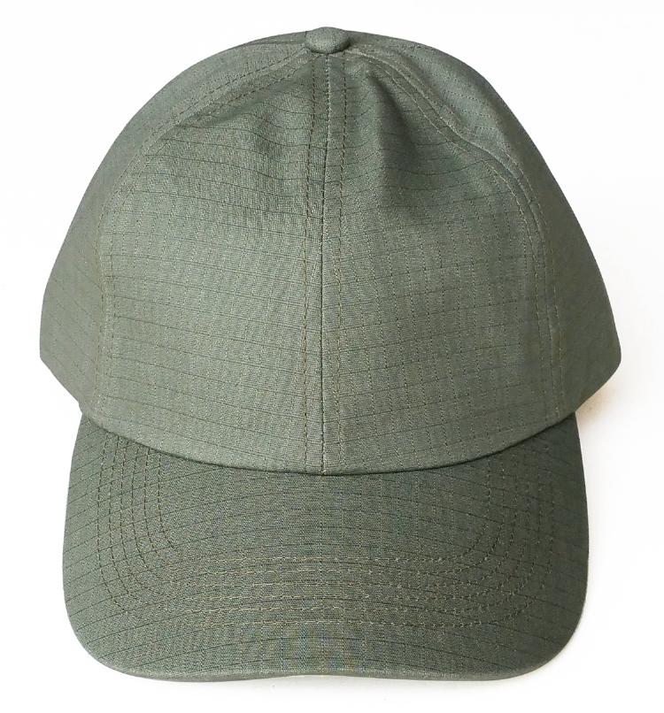 4d4da791691 ... Custom army green ripstop material dad hat factory ...