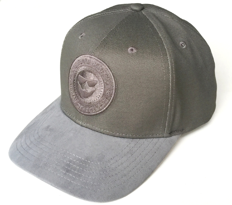 Custom suede brim baseball cap manufacturer in China