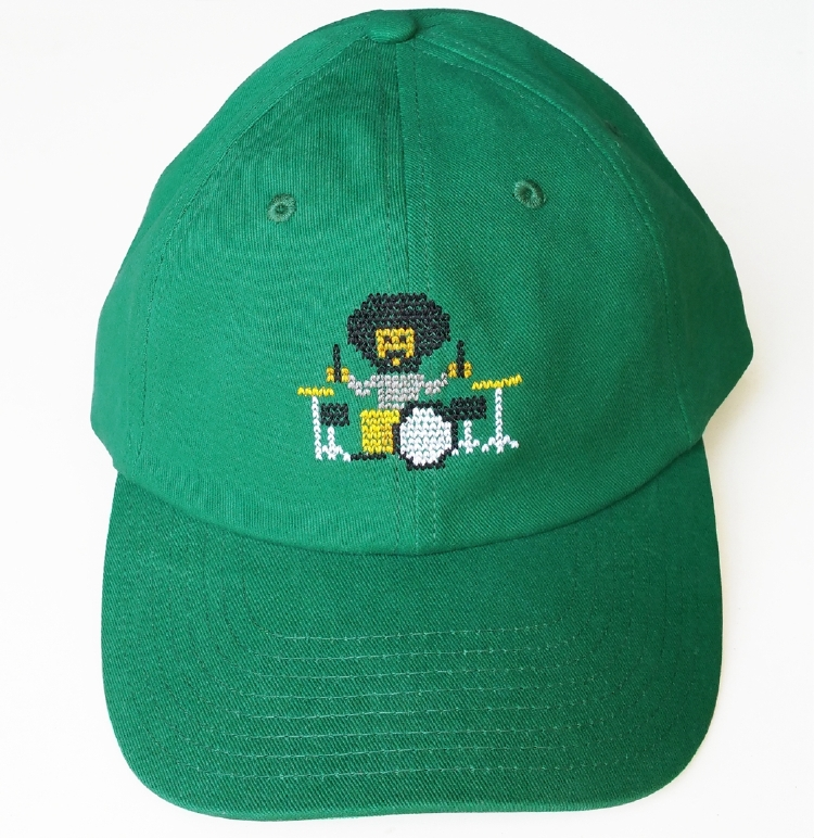 Custom cotton material green dad hat manufacturer