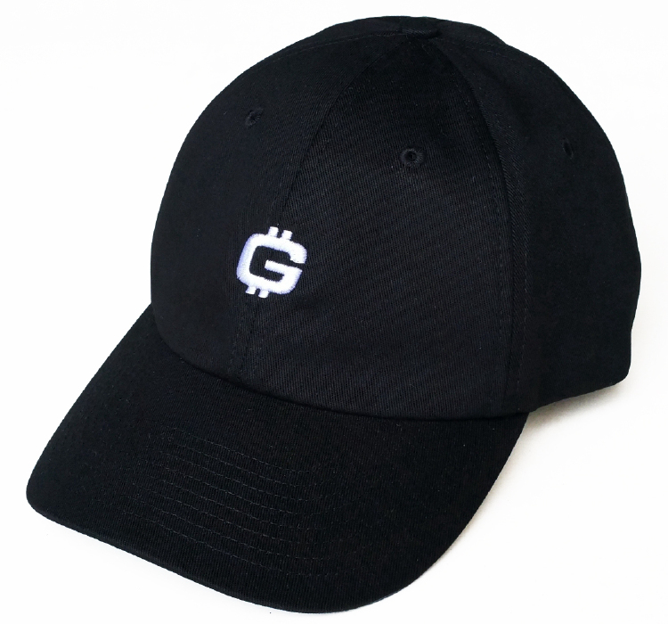Custom logo black cotton material dad hat supplier