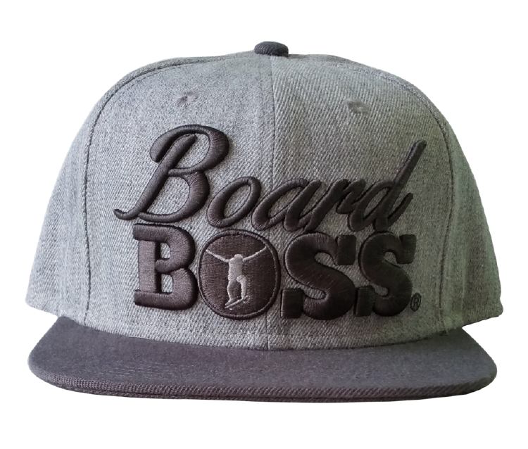 Custom wool/acrylic snapback cap with 3D embroidery cap