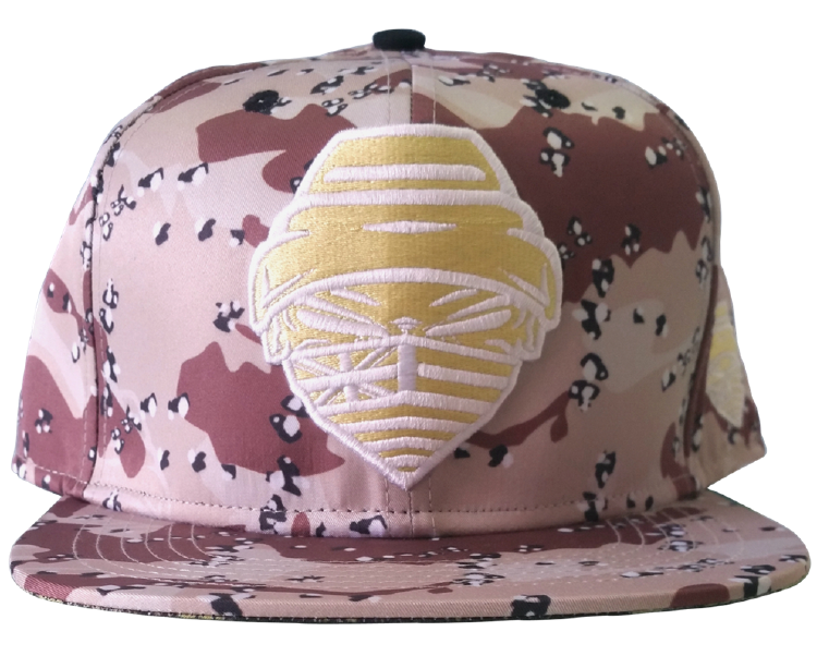 Custom printing pattern 6 panel snapback cap factory