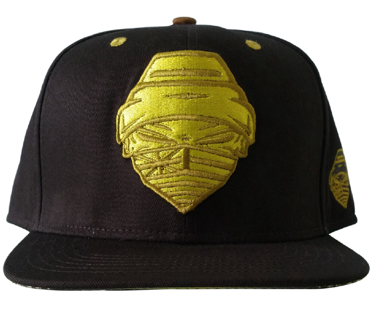 f66f1877 Custom design 6 panel snapback cap with 3D embroidery logo