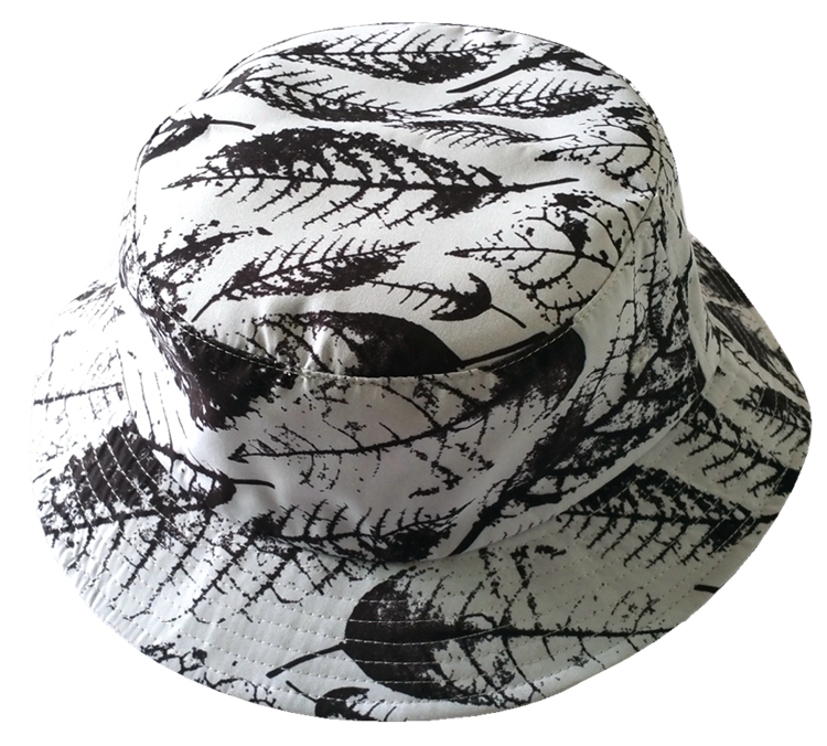 White polyester printing pattern bucket hat manufactuer