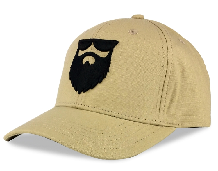 Khaki colour ripstop material baseball cap supplier