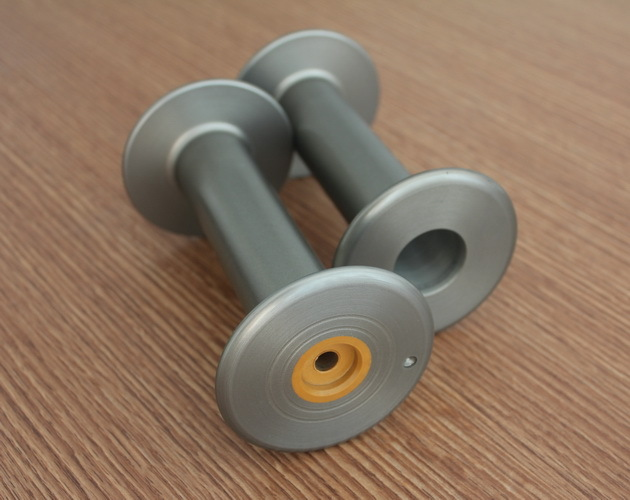 ALUMINIUM FLANGED BOBBIN FOR SPANDEX COVERING MACHINE