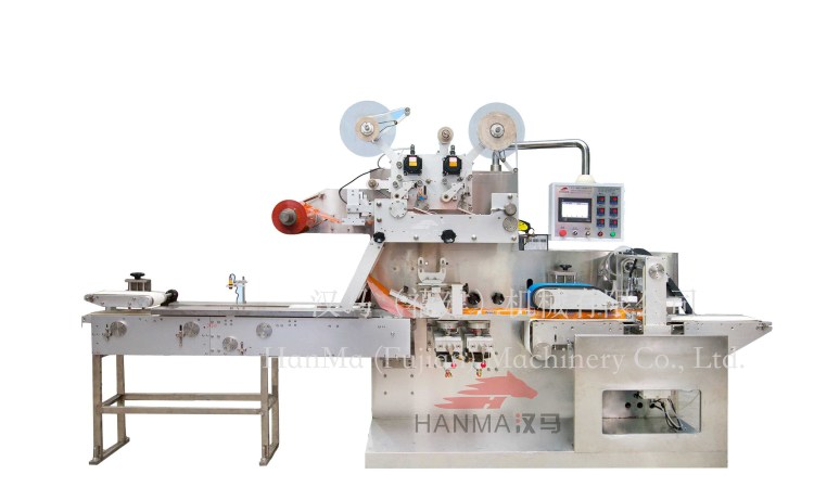 HM-BZ3060 全自动电气往复式湿巾包装机(5-120片/包)