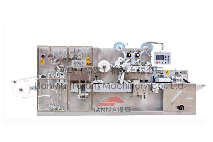 HM-1300B 全自动往复式湿巾折叠&包装机(5-30片/包)
