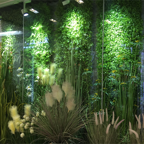 Artificial Green Plant Wall Grass