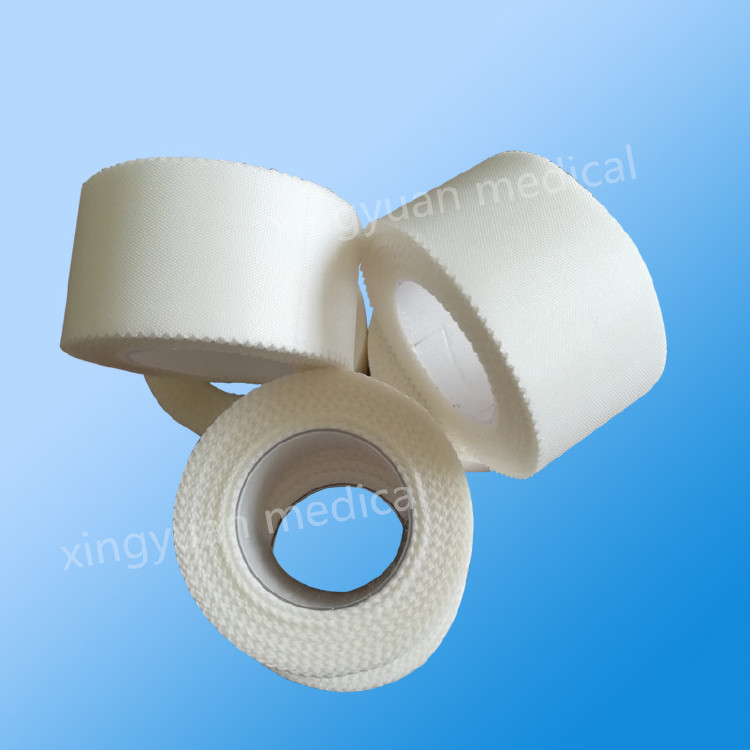 Soft adhesive surgical silk tape,medicall silk adhesive tape