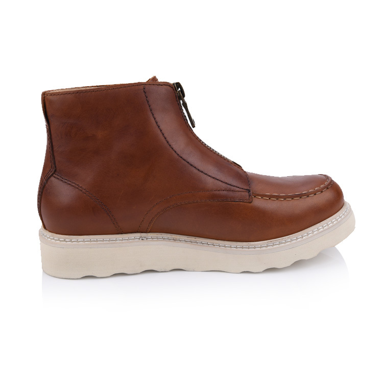 men's leathr chukka moc boots shoes company and manufacturer