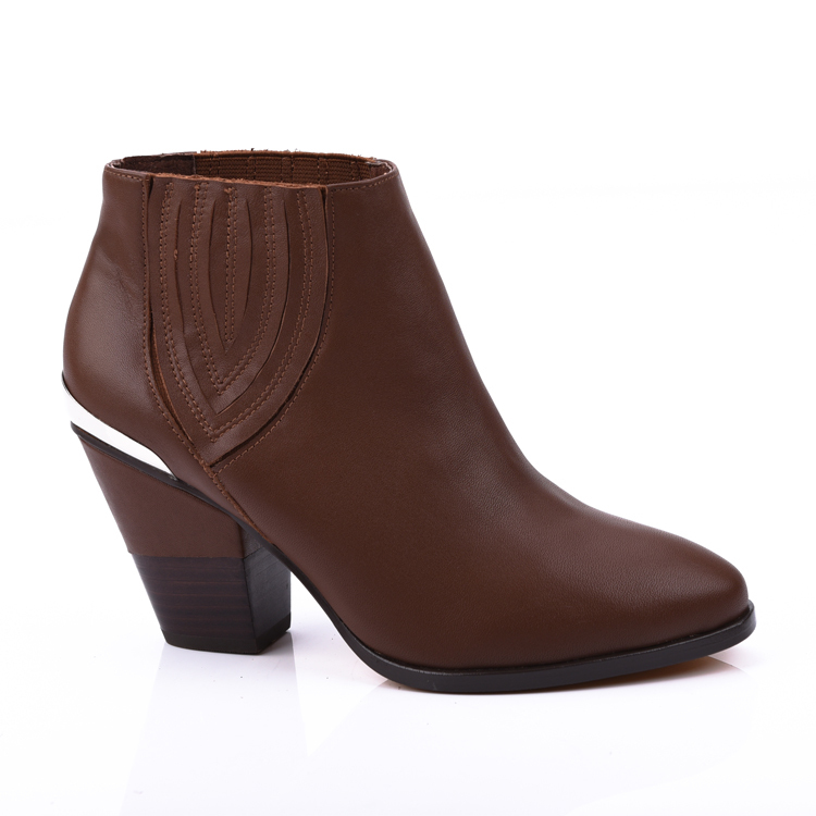fashion leather women ankle boot shoes footwear manufacturer