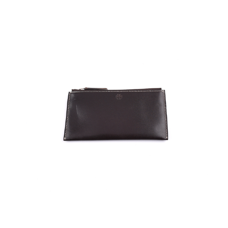 cow leather women clutch bag manufacture