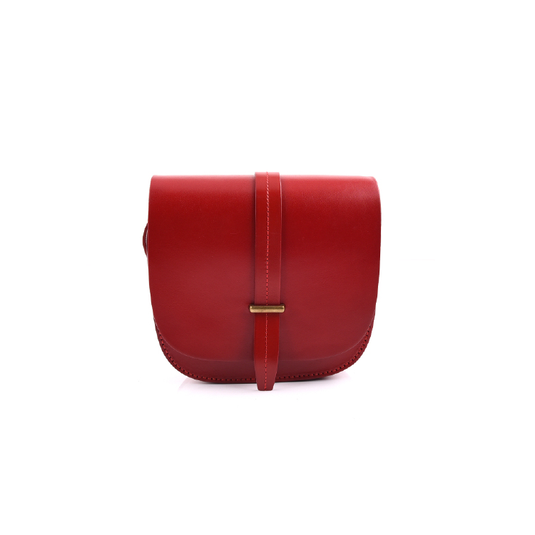 red cow leather mini shoulder bags manufacture