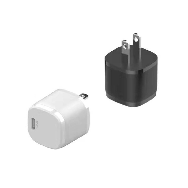 PD20W mini square fast charger compatible for Apple 12 serie