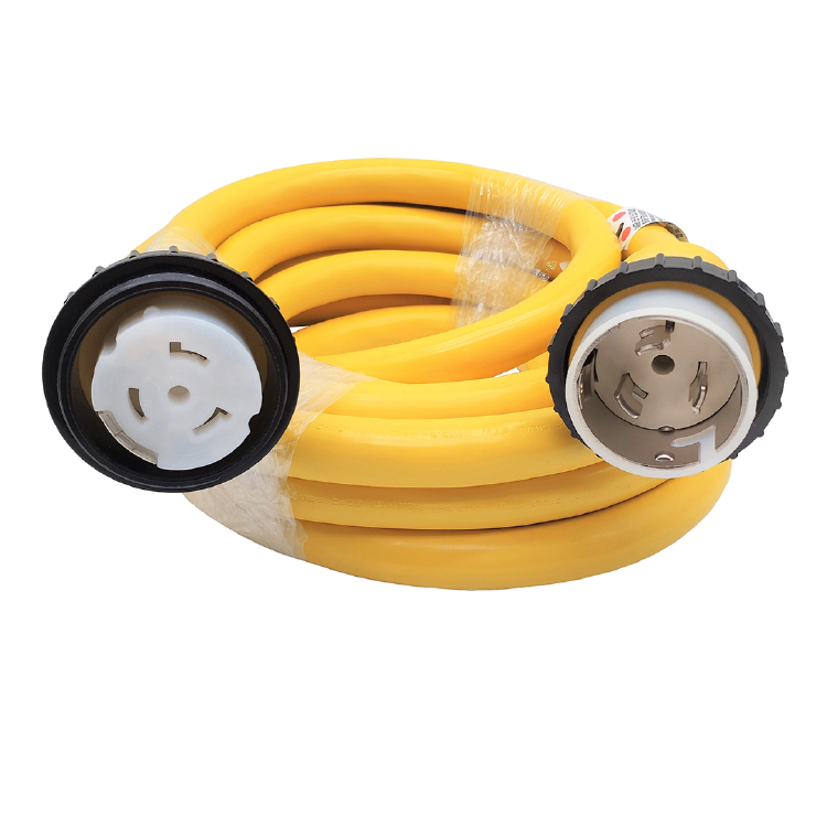 Marine Shore Power Extension Cord 50 AMP 25 Foot