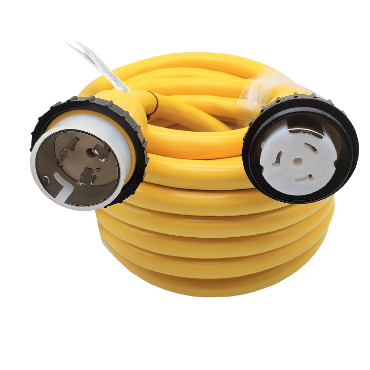 Marine Shore Power Extension Cord 50 AMP 50 Foot