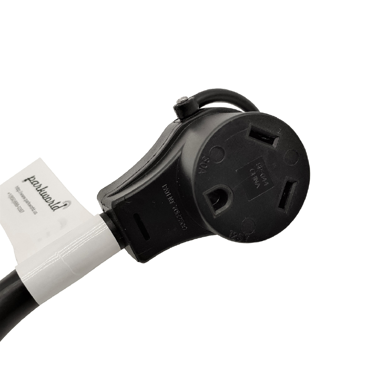 Parkworld 61261 Combiner Household 2 5-15 Plug Male to Generator L5-30 Receptacle Female Y Adapter Cord Combiner