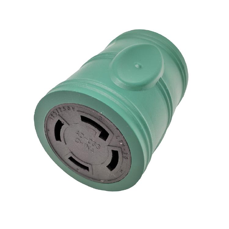 Parkworld 885262 Generator Adapter Cord 4-Prong Locking 20 AMP L14-20 Plug to 30 AMP Locking L14-30 Receptacle 1FT
