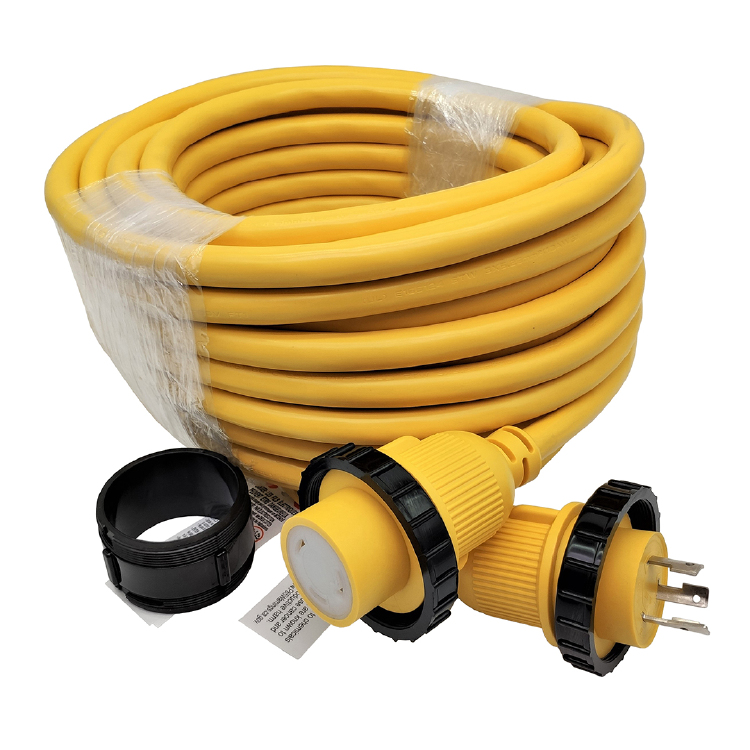 250V 7500W 7500W 30A 36FT Parkworld Dryer 3 Prong 30A Extension Cord NEMA 10-30P to 10-30R